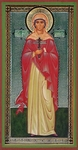 Religious Orthodox icon: Holy Martyr Anisia