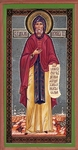 Religious Orthodox icon: Holy Venerable Anthony of the Kiev Caves