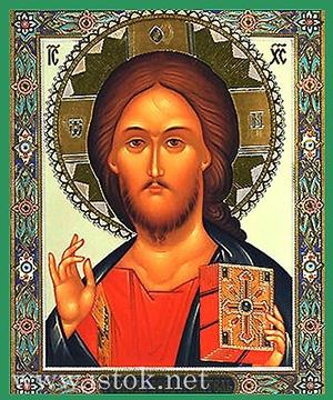 Religious Orthodox icon: Christ the Pantocrator - 8