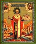 Religious Orthodox icon: Holy Hierarch Nicholas the Wonderworker of Mozhajsk - 2