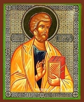 Religious Orthodox icon: Holy Apostle Peter