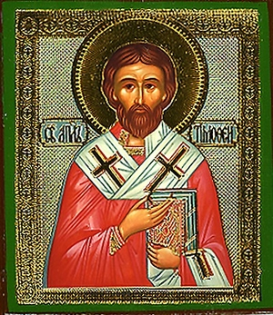 Religious Orthodox icon: Holy Apostle Timothy