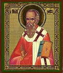 Religious Orthodox icon: Holy Ignatius the Theophorus