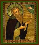 Religious Orthodox icon: Holy Venerable Zosimus of Solovki