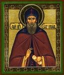 Religious Orthodox icon: Holy Venerable Job of Pochaev
