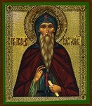 Religious Orthodox icon: Holy Venerable Gennadius of Kostroma