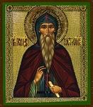 Religious Orthodox icon: Holy Venerable Gennadius of Kostroma