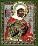 Religious Orthodox icon: Holy Martyr Longinus the Centurion