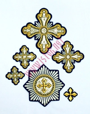 Zaraijsk cross vestment set