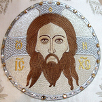 Embroidered icon: Holy Napkin