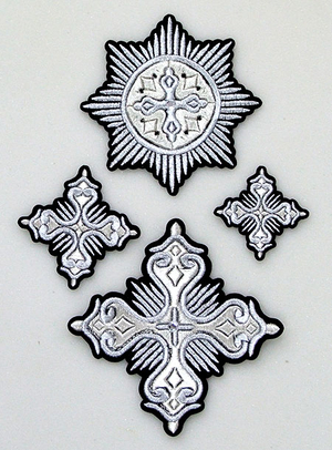 Itaka cross vestment set