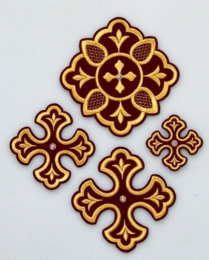 Kupava cross vestment set