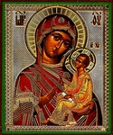 Religious Orthodox icon: Theotokos of Tikhvin - 1