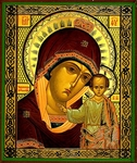 Religious Orthodox icon: Theotokos of Tabyn