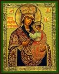 Religious Orthodox icon: Theotokos of Chernigov