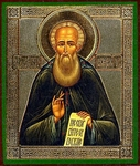 Religious Orthodox icon: Holy Venerable Alexander of Svir