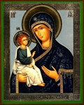 Religious Orthodox icon: Theotokos of Jerusalem