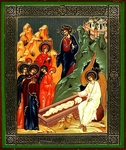 Religious Orthodox icon: Holy Myrr-Bearing Women