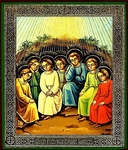 Religious Orthodox icon: Holy Seven Youths of Ephesus