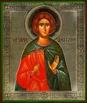 Religious Orthodox icon: Holy Martyr Anatolius