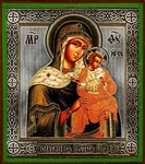 Religious Orthodox icon: Theotokos of Toloubitsy