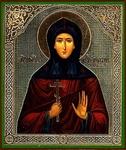 Religious Orthodox icon: Holy Venerable Ephrosinia of Souzdal