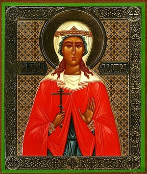 Religious Orthodox icon: Holy Martyr Larisa
