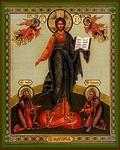 Religious Orthodox icon: Christ the Pantocrator (standing)