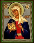 Religious Orthodox icon: Theotokos of Kaluga