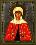 Religious Orthodox icon: Holy Martyr Marina