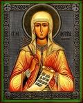 Religious Orthodox icon: Holy Martyr Photina