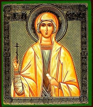 Religious Orthodox icon: Holy Martyr Sophia