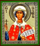 Religious Orthodox icon: Holy Martyr Parasceva