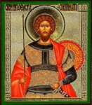 Religious Orthodox icon: Holy Great Martyr Theodor Stratilatus