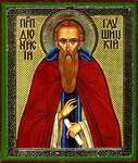 Religious Orthodox icon: Holy Venerable Dionysius of Gloushitsa