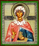 Religious Orthodox icon: Holy Righteous Johanna