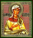 Religious Orthodox icon: Holy Blessed Taisia