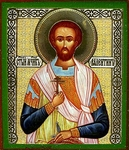 Religious Orthodox icon: Holy Martyr Valentine
