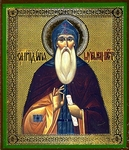 Religious Orthodox icon: Holy Venerable Elijah of Murom and Kievan Caves