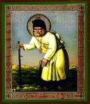Religious Orthodox icon: Holy Venerable Seraphim the Wonderworker of Sarov - 10