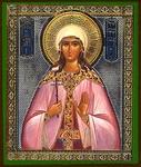 Religious Orthodox icon: Holy Martyr Byreneya (Veronika, Victoria)