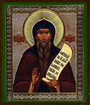 Religious Orthodox icon: Holy Venerable Nicetas of Pereyaslavl