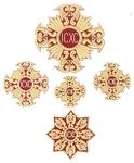 Korsun vestment cross set