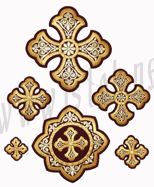 Zvenigorod cross vestment set