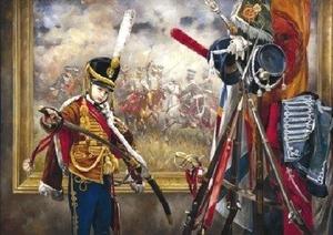 """Painting: V.I. Nesterenko """"A hussar ballade"""""""