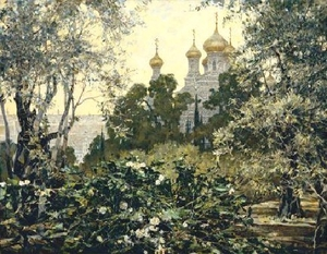"Painting: V.I. Nesterenko ""Summer in Jerusalem"""