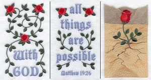 All Things Are Possible Banner - Lg (3 Pieces)