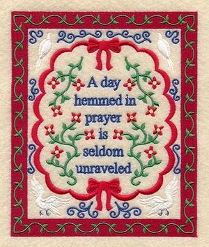 Day Hemmed in Prayer