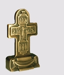 Table candle-stands Cross - A1 (crucifixion)