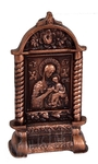 Table candle-stands Savior icon-case